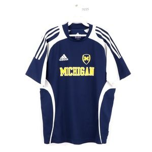Adidas University of Michigan Team Soccer Jersey